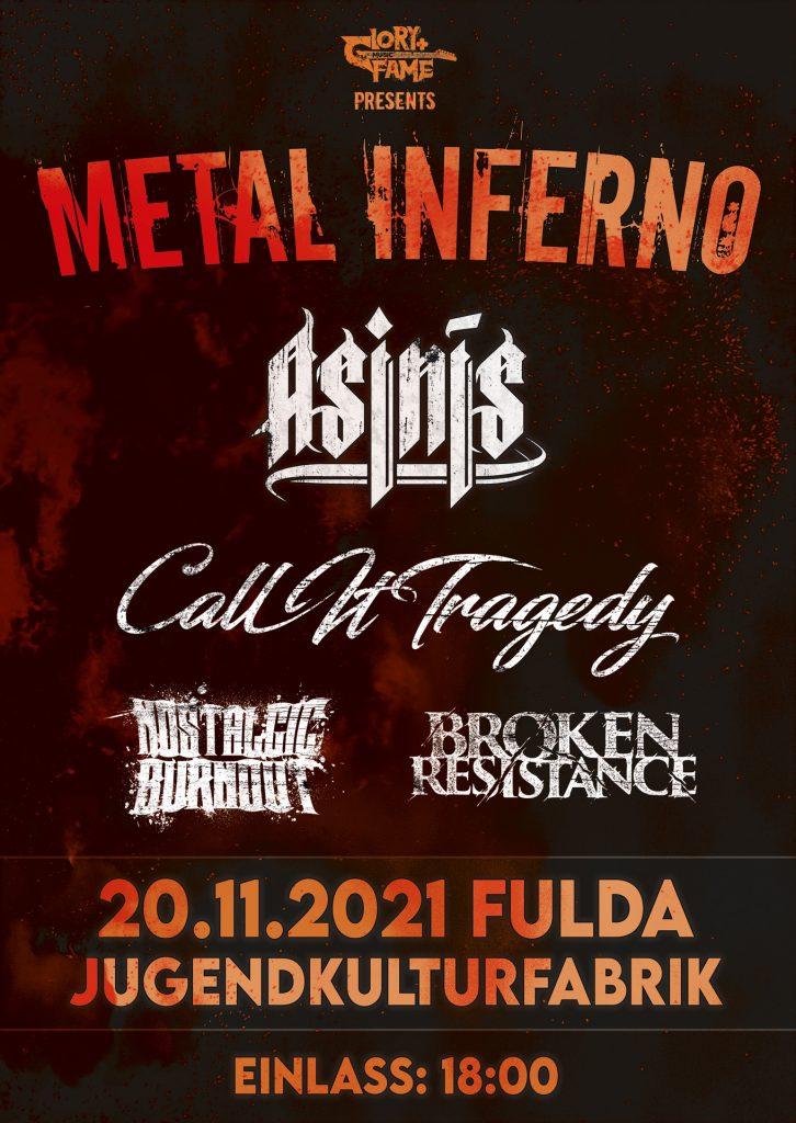 Asinis Live - Metal Inferno